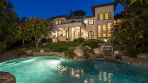Sold Full price, All Cash! Tuscan Style Flintridge Gated Estate-La Canada Schools