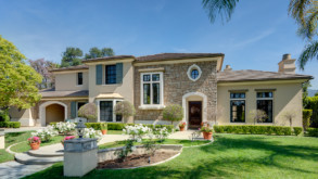 In Escrow! Elegant Two Story Estate in the Gated Community of Arcadia!